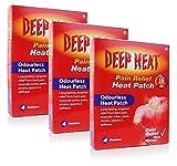 Deep Heat patch 4 **3 PACK DEAL** by Deep Heat