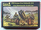 Caesar Miniature WWII Germany Natick Vel Vel file 42 & La ketene Courchevel file 43 crew [parallel import goods]