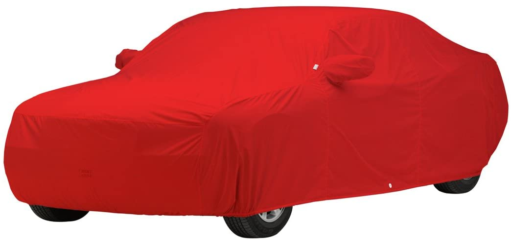 Covercraft Custom Fit Car Cover for Chevrolet Wagon - WeatherShield HP Fabric (Red)