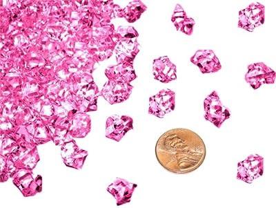 BalsaCircle 400 Acrylic MINI Ice Crystal Like Pieces - Wedding Centerpieces Supply