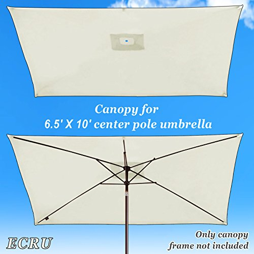 Strong Camel Replacement Umbrella Canopy for 10ft x 6.5 ft 6 ribs (Canopy Only) (Ecru) Review