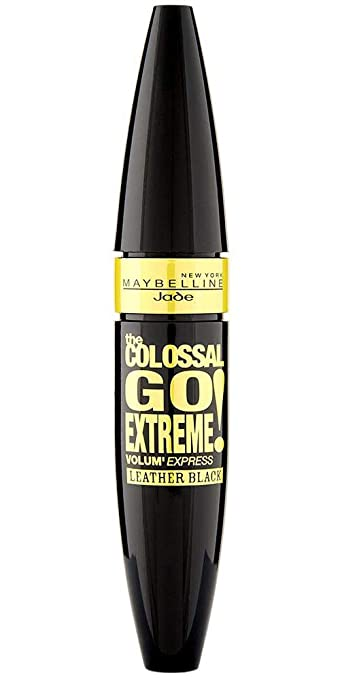 1b13f2cc293 Amazon.com : Maybelline The Colossal Go Extreme Leather Black Mascara 9,  5ml. by Maybelline : Beauty