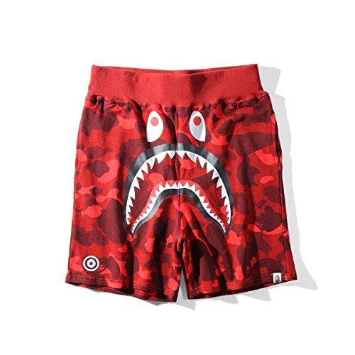 b9dceabc549 Griffith Nancy Hot 17SS A Bathing Ape Camo Shorts Shark Prints Cool Bape  Shorts S-XXL3