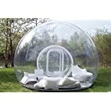 Dream House Romantic Outdoor Transparent Camping Tent Inflatable Crystal Bubble Tent