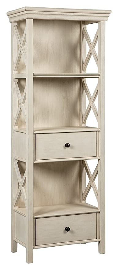 Signature Design By Ashley D647 76 Display Cabinet, Off White