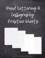 Hand Lettering & Calligraphy Practice Sheets: