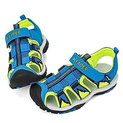 ALEADER Kids Youth Sport Water Hiking Sandals (Toddler/Little Kid/Big Kid) Blue Size: 2 Little Kid