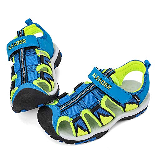ALEADER Kids Youth Sport Water Hiking Sandals (Toddler/Little Kid/Big Kid) Carolina/Blue 8.5 M US Toddler ()