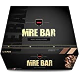 MRE Bar - Meal Replacement Bar (1 Box/12 Bars) Crunchy Chocolate Peanut Butter