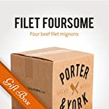 Porter & York Brand Meats - Filet Foursome Gift Box