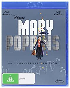 Mary Poppins: 50th Anniversary Edition [Blu-ray]