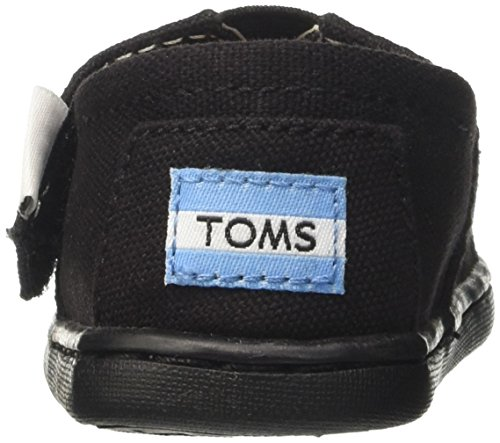 TOMS Youth/Tiny Classics 2.0 Slip-On Shoes Black Canvas RNizTLo9ky