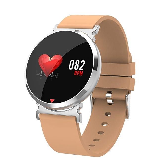 Btruely SmartWatch Multifunción Reloj Inteligente Hombre Pulsera Actividad, e28 presión Arterial/oxígeno en la Sangre/Monitor de Ritmo cardíaco Reloj ...