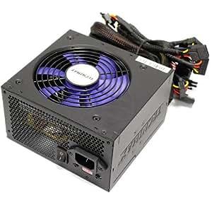 Cablematic - Fuente de alimentación de 220VAC PC 600W ATX-EPS12V silenciosa