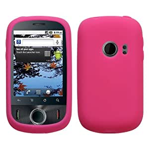 Hot Pink Gel Skin Case for T-Mobile Huawei Comet