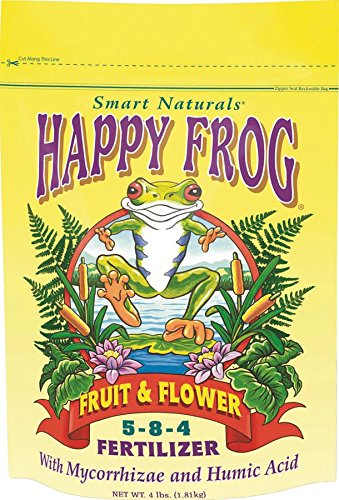 FoxFarm FX14060 Happy Frog Fruit and Flower Fertilizer