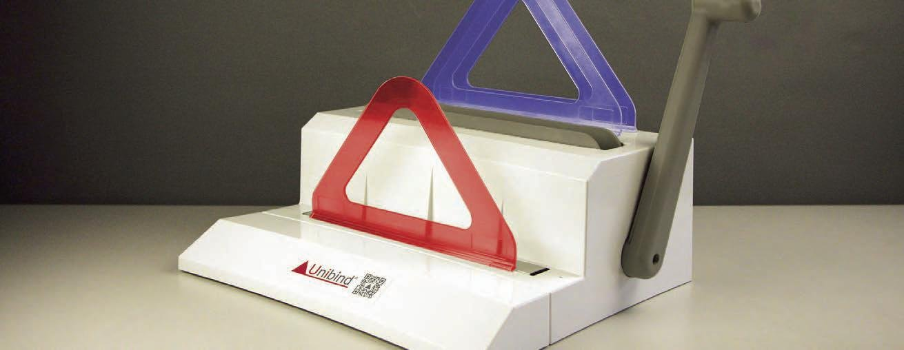 Unibinder 120 Thermal Binding machine with manual crimper