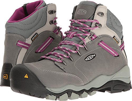 Image of the KEEN Utility Women's Canby at Waterproof Industrial and Construction Shoe, Gargoyle/Vapor, 7 M US