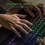 Razer Ornata Chroma Gaming Keyboard: Hybrid Mechanical Key Switches – Customizable Chroma RGB Lighting – Individually…
