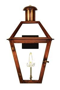 "The CopperSmith Georgetown 18"" Gas Lantern GT18-Gas"