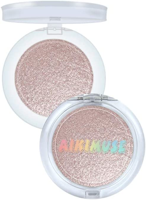 Sunday88 Highlighter Makeup Palette, Professional Enhanced Silhouette Contour Makeup Face Powder High-Gloss Gorgeous Luster Super Silky Texture Long Lasting Waterproof Face Glow Powder Pal
