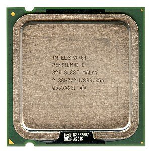 Intel Pentium D 2.80 GHz 800 MHz Socket 775  processor (Intel Pentium 4 Lga775 Package)