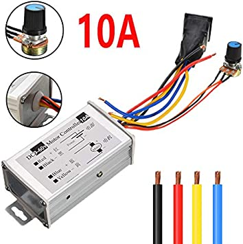 12V//24V//36V Pulse Width PWM DC 3A Motor Speed Regulator Controller Switch LW