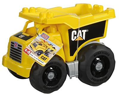 Megabloks Cat Large Vehicle Dump Truck by Megabloks