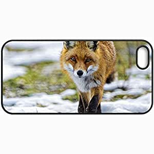 Customized Cellphone Case Back Cover For Case For Sony Xperia Z2 D6502 D6503 D6543 L50t L50u Cover , Protective Hardshell Case Personalized Fox Black