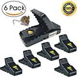 Mouse Trap - Rat Traps Snap Humane Power Rodent Killer Mice TrapSensitive Reusable and Durable by Buyplus (6)