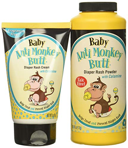 Discontinued Monkey - Baby Anti-Monkey Butt Diaper Rash Set