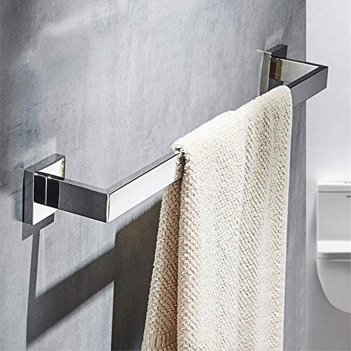 Velimax Stainless Steel Towel bar Modern Towel Bar Wall Mount Towel Rail 23.6