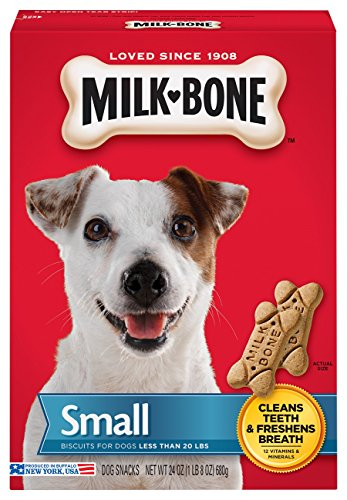 Milk-Bone Original Dog Treats for Small Dogs, 24 Ounce (Pack of 4)