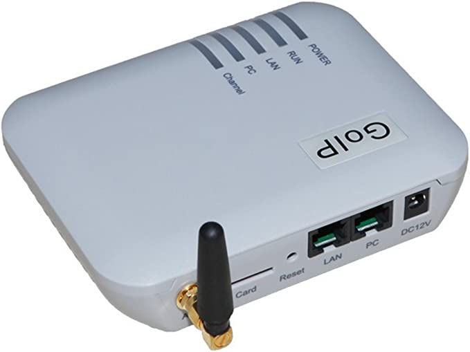 91pg, goip, Gateway, VoIP, SMS, GSM- 1 channel-imei Change-1 SIM card-sip & h.323-vpn PPTP (1 canal): Amazon.es: Electrónica