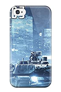Kevin Charlie Albright's Shop New Style 7341529K34006123 New Fashion Premium Tpu Case Cover For Iphone 4/4s - Battlefield 3 War
