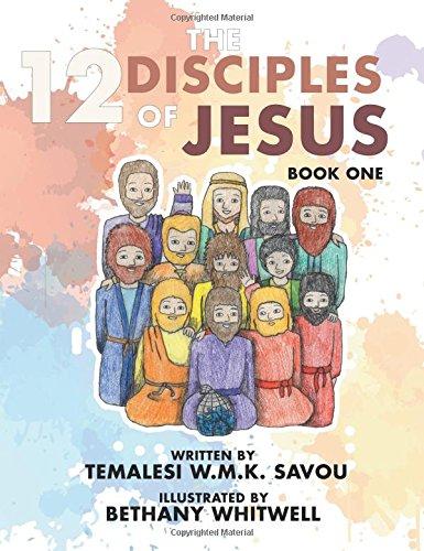 The 12 Disciples of Jesus: Book (Jesus 12 Disciples)