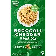 Wickedly Prime Lentil Pasta Meal, Broccoli Cheddar, 10.1oz