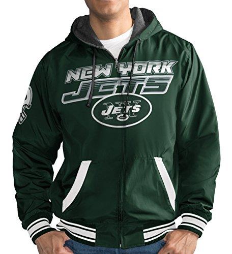 "New York Jets NFL G-III ""Hot Shot"" Full Zip Men"