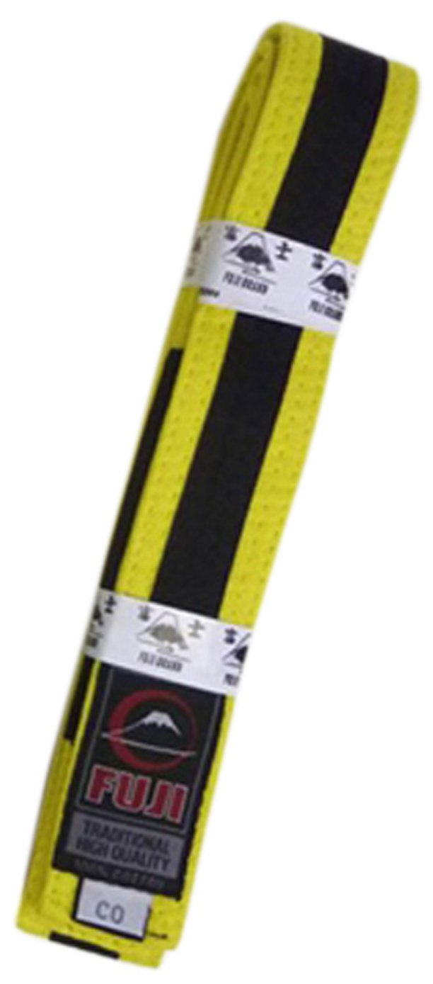 Fuji BJJ Belt Belt BJJ Black A1-PARENT