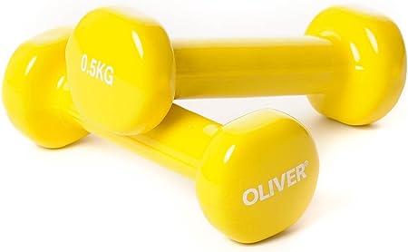 Pesas para entrenamiento Oliver Bad Company 0,5 kg
