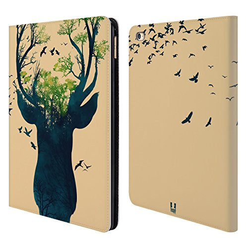 Head Case Designs Deer Wildlife Silhouette Leather Book Wallet Case Cover for iPad Air 2 (2014)