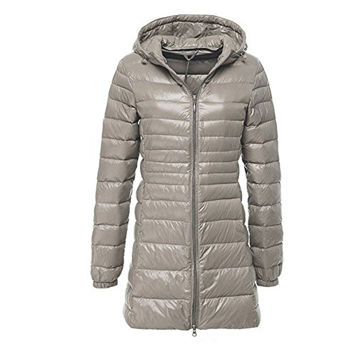 Bekannte Newbestyle Herbst Winter Daunenjacke Damen Lange Leichte Jacke  OT34