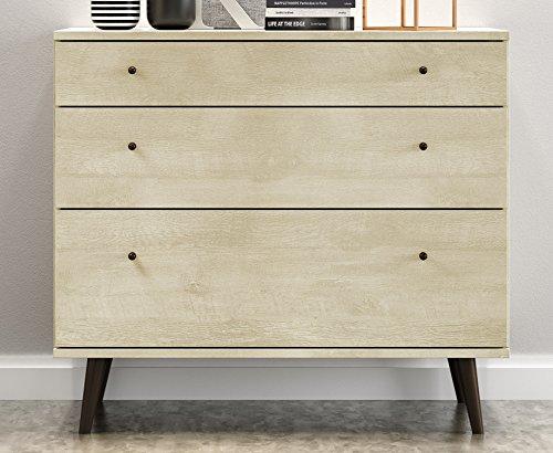 Midtown Concept 3-Drawer Dresser, Sand