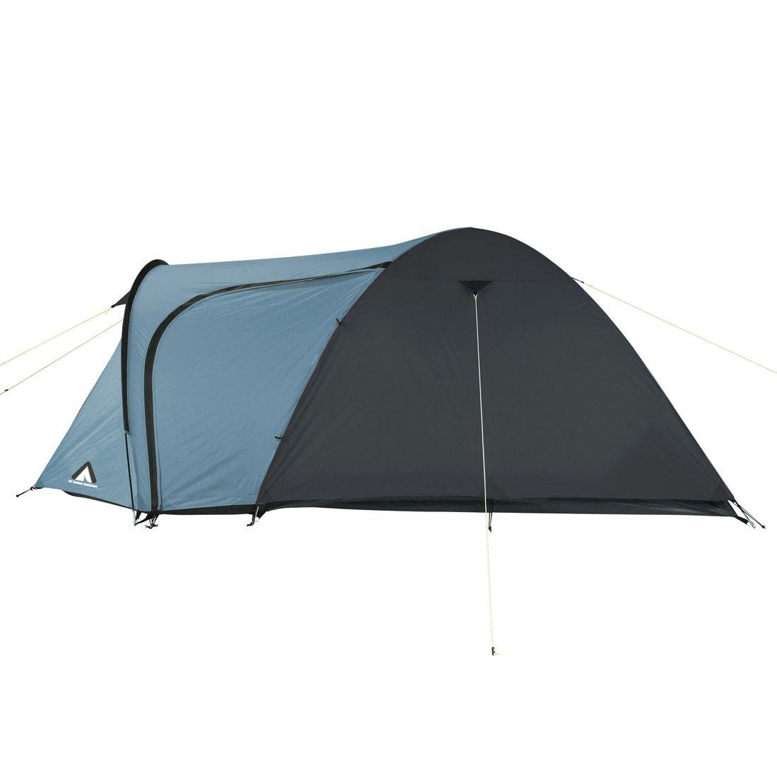 10T Zelt Jumbuck Arona 4 Mann Kuppelzelt wasserdichtes Campingzelt 5000mm Igluzelt mit Wohnraum