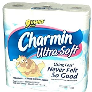 Ratings and reviews for Charmin Ultra Soft Bathroom Tissue 9 Family Rolls