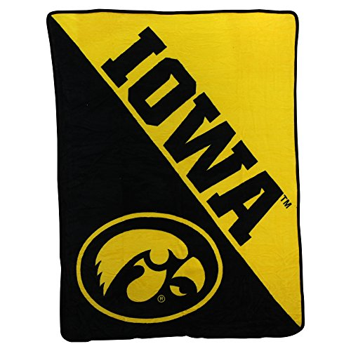 Iowa Hawkeyes Fleece Throw (NCAA Collegiate