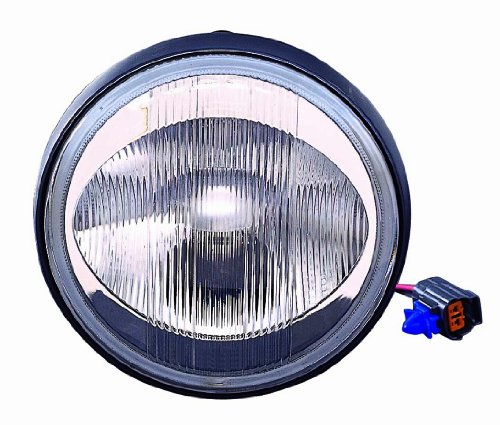Depo 316-2007N-AQ Mazda Protege/Miata Driver/Passenger Side Replacement Fog Light Assembly
