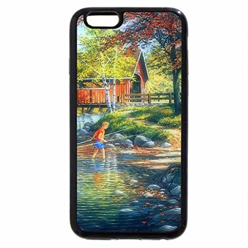 iPhone 6S / iPhone 6 Case (Black) Rock Ford & Toll Bridge