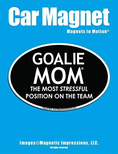 (Goalie Mom Car Magnet)