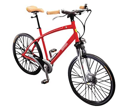 Biciclo Turbo USA Ferrari CX-70 Comfort Bike (Red, Large, 26-
